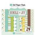 Набор бумаги Bundle of Joy Boy, 15х15 см, 12 листов, Echo Park, BJB46023