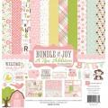 Набор бумаги Bundle of Joy New Addition Girl, 30х30 см, Echo Park, BJGT79016