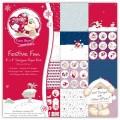 Набор бумаги Festive Fun, 20х20 см, 12 листов, Fizzy Moon, BN0117