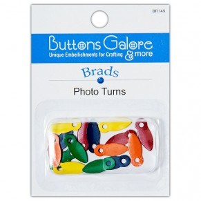 Держатели для фотографий Photo Turns, Buttons Galore, BR149