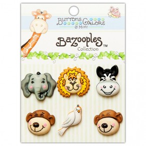 Набор пуговиц Gertrude and Friends, Buttons Galore, BZ100