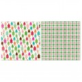 Лист картона Tree, Merry and Bright, 30х30 см, Carta Bella, CB-MB500455