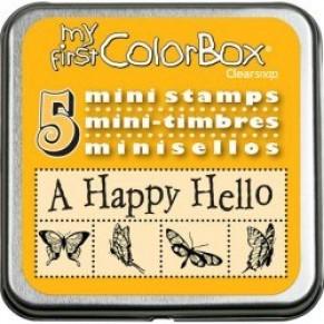 Резиновые штампи My First ColorBox Mini Stamps, CB01