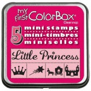 Резиновые штампы My First ColorBox Mini Stamps, CB03