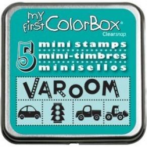 Резиновые штампы My First ColorBox Mini Stamps, CB04