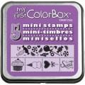 Резиновые штампы My First ColorBox Mini Stamps, CB05