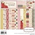 Набор бумаги Beautiful Moments, 30х30 см, Carta Bella, CBBM1013