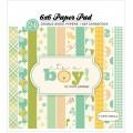 Набор бумаги It's a Boy, 15х15см, Carta Bella, CBIB50015