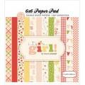 Набор бумаги It's a Girl, 15х15см, Carta Bella, CBIG51015