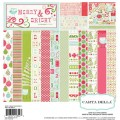 Набор бумаги Merry and Bright, 30х30 см, Carta Bella, CBMB5013