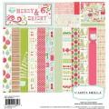 Набор бумаги Merry and Bright, 30х30 см, Carta Bella, CBMB5013