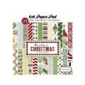 Набор бумаги So This Christmas, Carta Bella, 15x15 см, 24 листа, CBST20015