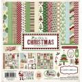 Набор бумаги So This Christmas, 30х30 см, Carta Bella, CBST20016