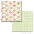Лист картона School Girl, True Friends, 30х30 см, Carta Bella, CBTF10004