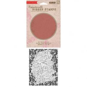 Резиновый штамп,15х12 см, Tapestry Script Background, Hero Arts, CG-401