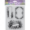 Резиновые штампы Floral Frames, Hero Arts, CG407
