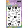 Акриловые штампы Sweet Hearts, Hero Arts, CL585