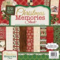 Набор бумаги Christmas Memories, 30х30 см, 24 листа, DCWV, CP-002-00924