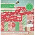 Набор бумаги  Cup of Cheer, 30х30 см, 24 листа, DCWV, CP-012-00460