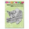 Резиновый штамп Bird, Stampendous, CRP169