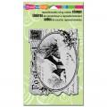 Штамп резиновый Snowy Postcard, 13 х 9.2 см, Stampendous, CRR143