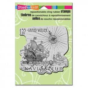 Штамп Navigateur, Stampendous, CRW087