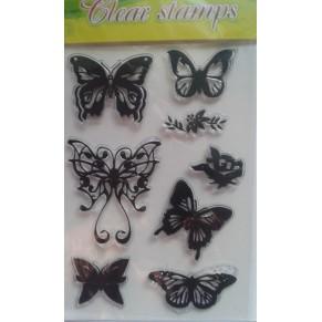 Штампы Butterflies, CSA8260