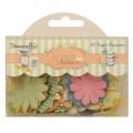Набор бумажных цветов Cupcake Boutique, Dovecraft, DCBL009