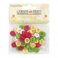 Пуговицы Garden Party Buttons, Dovecraft, 60 шт, DCBN005