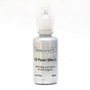 Жидкий жемчуг 3D Pearl Effects – Silver, Dovecraft, DCBS92-S