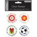 Акриловые штампы Mix and Match Clear Stamps, Dovecraft, DCCS10