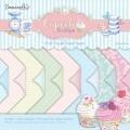 Набор двухсторонней бумаги Cupcake Boutique, Dovecraft 30 х 30 см, DCDP1244