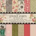 Набор бумаги Sweet Paris, 15x15 см, Dovecraft , DCDP148