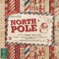 Набор бумаги North Pole, 15x15 см, Dovecraft, DCPAP003X15