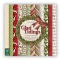 Набор бумаги Glad Tidings, 15x15 см, Dovecraft, DCPAP006X15