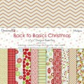 Набор бумаги  Back to Basics Christmas Modern, 30×30 см, Dovecraft, DCXDP28