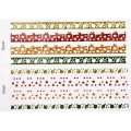 Наклейки Christmas Glitter Border Stickers-Decorations, Dovecraft, DCXGS08