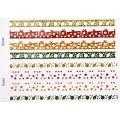 Наклейки Christmas Glitter Border Stickers-Decorations, Dovecraft, DCXGS08