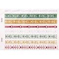 Наклейки Christmas Glitter Border Stickers-Noel, Dovecraft, DCXGS09