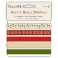 Набор лент Back to Basics Christmas Vintage, DCXRB01