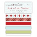 Набор лент Back to Basics Christmas Modern, DCXRB02