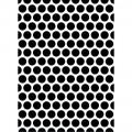 Папка для тиснения Large Dot, 10.5Х14 см, Darice, DLD-367290