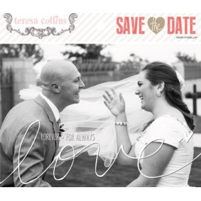 Оверлеи  Save the Date, Teresa Collins, DS1064