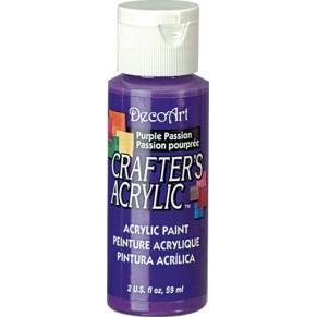 Акриловая краска Crafter's Фиолетовая Страсть 60 мл, DCA72-3