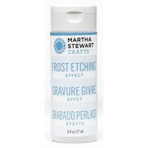 Средство для гравирования/матирования стекла Frost Etching Effect, Martha Stewart Crafts