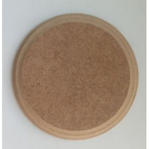 Шильда круглая - заготовка для декупажа/росписи, с двойной фаской, 9 см, DSKD-09