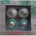 Набор ручек для мебели, диаметр 38 мм, 4 шт