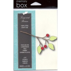 Лезвие Twigs and Berries Die, Memory Box, 98161