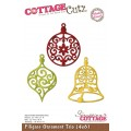 Ножи Filigree Ornament Trio, Cottage Cutz