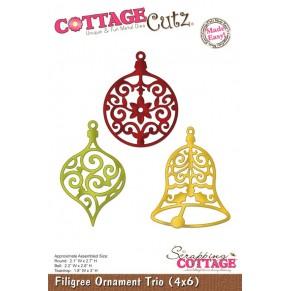 Ножи Filigree Ornament Trio, Cottage Cutz